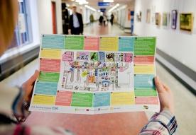 Walks of Art Map, York Hospital