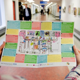Walks of Art Map, York Hospital
