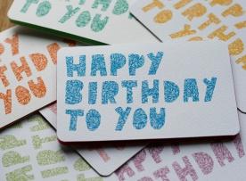 Birthday Card 2016